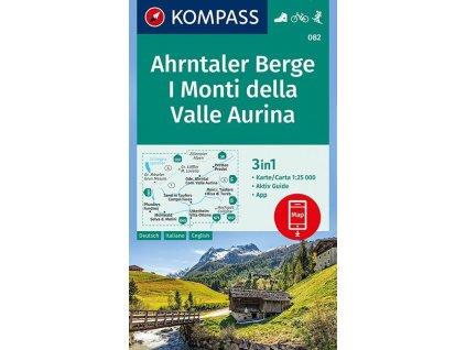 Ahrntaler Berge, Monti di Valle Aurina (Kompass- 082)