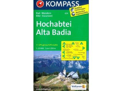 Hochabtei , Alta Badia (Kompass - 624)