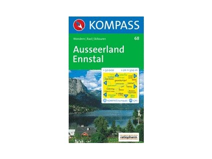 Ausseerland, Ennstal (Kompass - 68)