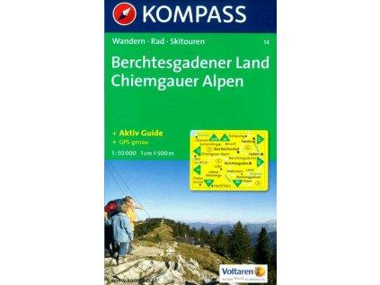 Berchtesgadener Land, Chiemgauer Alpen (Kompass - 14)