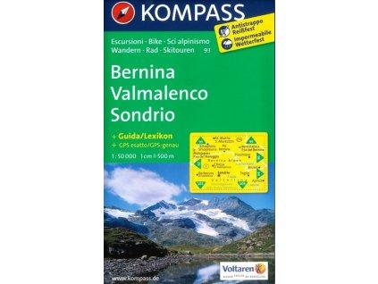 Bernina, Valmalenco, Sondrio (Kompass - 93)