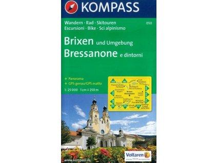 Brixen a okolí (Kompass - 050)