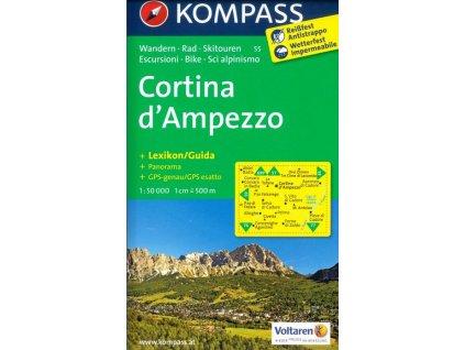 Cortina d'Ampezzo (Kompass - 55)