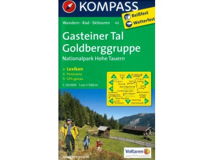 Gasteiner Tal, Goldberggruppe (Kompass - 40)