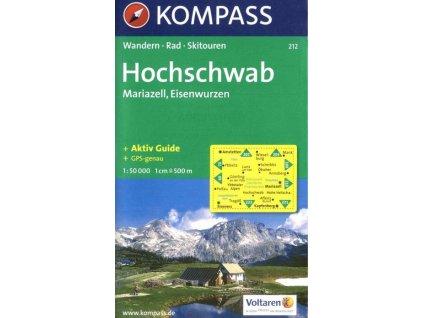 Hochschwab, Mariazell, Eisenwurzen (Kompass - 212)