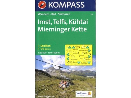 Imst, Telfs, Kühtai, Mieminger Kette (Kompass – 35)