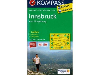 Innsbruck a okolí (Kompass - 036)