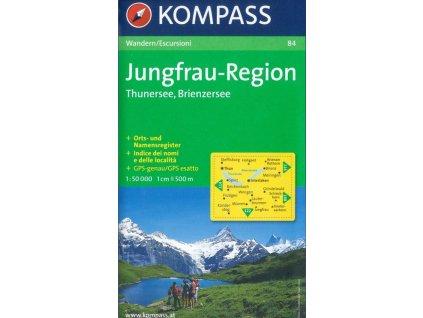 Jungfrau Region, Thuner See und Brienzer See (Kompass - 84)