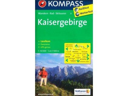 Kaisergebirge (Kompass - 9)