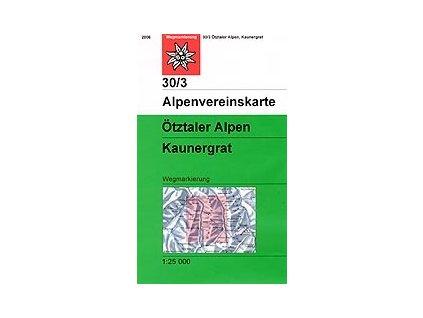 Ötztaler Alpen, Kaunergrat (letní) – AV30/3