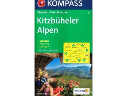Kitzbüheler Alpen (Kompass - 29)