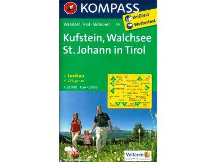 Kufstein, Walchsee, St Johan in Tirol (Kompass - 09)
