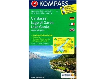 Lago di Garda, Gardasee, Monte Baldo (Kompass - 102)