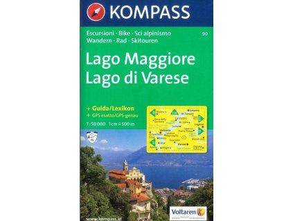 Lago Maggiore, Lago di Varese (Kompass - 90)