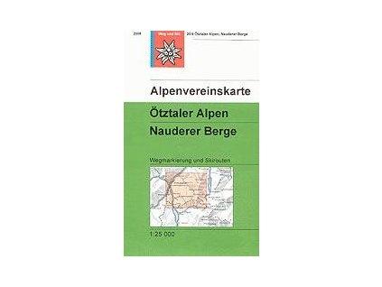 Ötztaler Alpen, Nauderer Berge (letní + zimní) – AV30/4