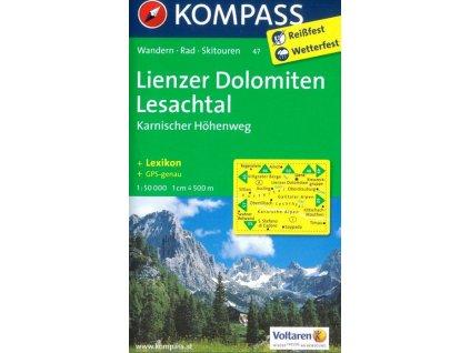Lienzer Dolomiten, Lesachtal (Kompass - 47)