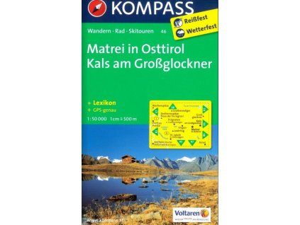 Matrei in Osttirol, Kals am Großglockner (Kompass - 46)