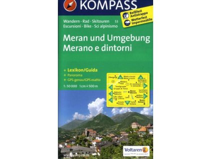 Merano und Umgebung (Kompass - 53)
