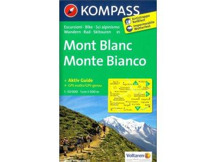 Mont Blanc, Monte Bianco (Kompass - 85)