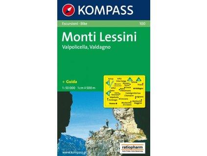 Monti Lessini, Valpolicella, Valdagno (Kompass - 100)