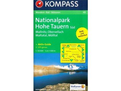 National park Hohe Tauern Süd, Mallnitz, Mölltl, Maltatal (Kompass - 49)