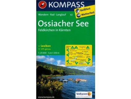 Ossiacher See, Feldkirchen (Kompass - 62)