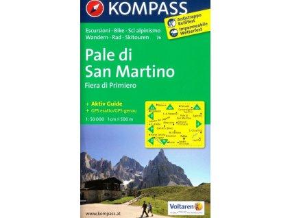 Pale di San Martino (Kompass - 76)