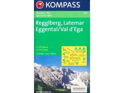 Regglberg, Latemar, Eggental (Kompass - 630)