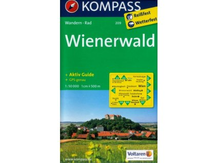 Wienerwald (Kompass - 209)