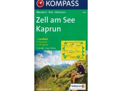 Zell am See, Kaprun  (Kompass - 030)