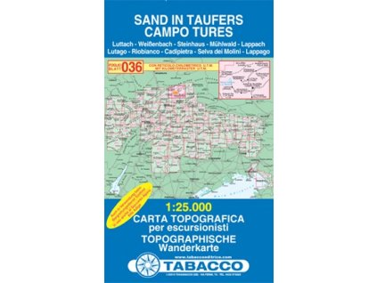 Campo Tures, Sand in Taufers (Tabacco - 036)