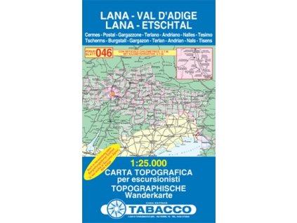 Lana, Val d´Adige, Lana, Etschtal (Tabacco - 046)