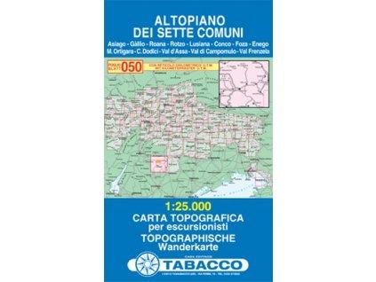 Altopiano dei Sette Comuni, Asiago (Tabacco - 050)