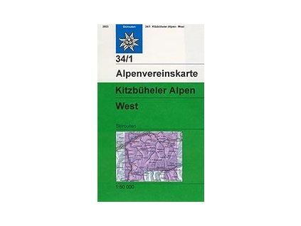 Kitzbüheler Alpen West (zimní) – AV34/1