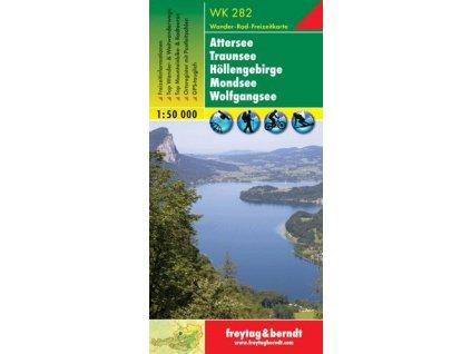 Attersse, Traunsee, Höllengebirge, Mondsee, Wolfgangsee (WK282)