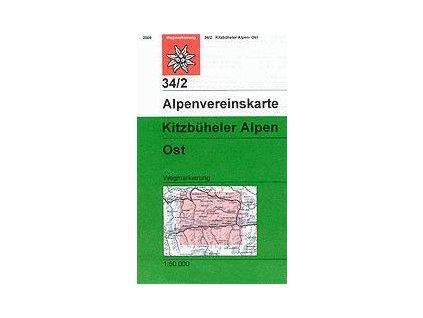 Kitzbüheler Alpen Ost (letní) – AV34/2