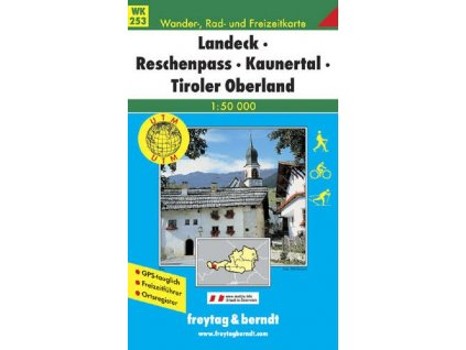 Landeck, Reschenpass, Kaunertal Tiroler Oberland (WK253)
