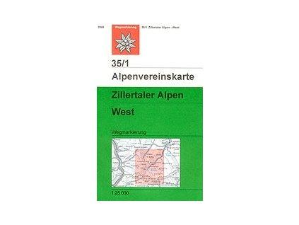 Zillertaler Alpen West (letní) – AV35/1