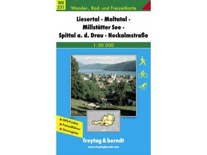 Liesertal, Maltatal, Millstatter See, Spittal an der Drau, Nockalmstraße (WK221)