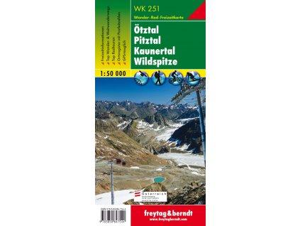Ötztal, Pitztal, Kaunertal, Wildspitze (WK251)