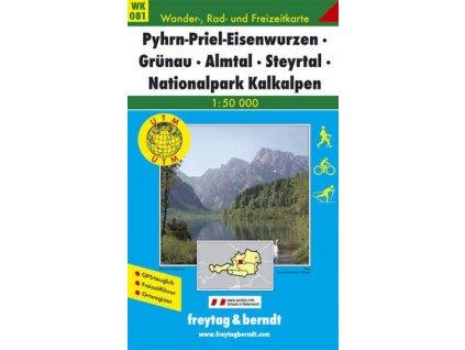 Pyhrn, Priel, Eisenwurzen, Grünau, Almtal, Steyrtal, Nationalpark Kalkalpen (WK081)