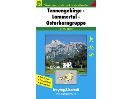 Tennengebirge, Lammertal, Osterhorngruppe (WK392)