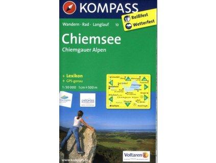 Chiemsee, Chiemgauer Alpen (Kompass - 10)