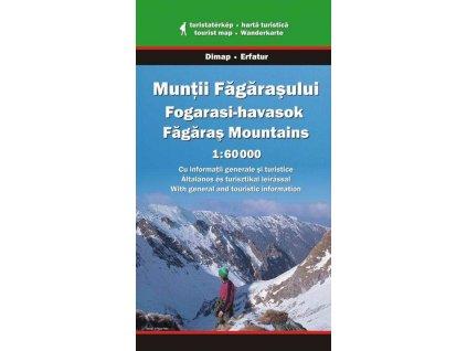 Muntii Fagarasului (Fagaraš) - turistická mapa