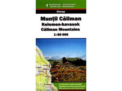 MuntiCaliman - Kaliman - turistická mapa