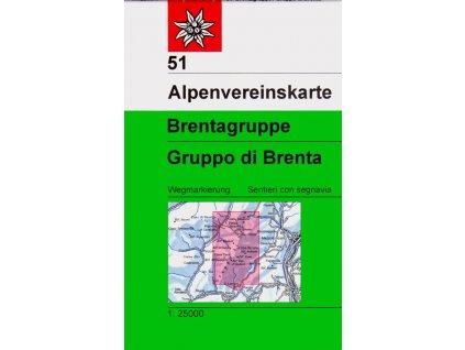 Brenta, Gruppo di Brenta (letní) – AV51