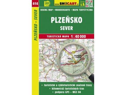 Plzeňsko - sever - turistická mapa č. 414