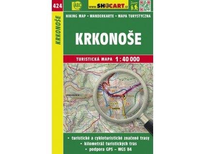 Krkonoše - turistická mapa č. 424