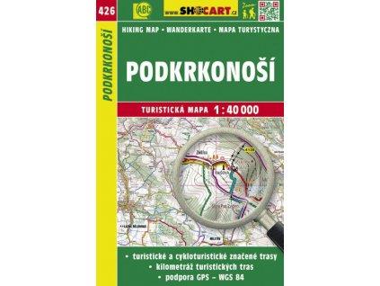 Podkrkonoší - turistická mapa č. 426