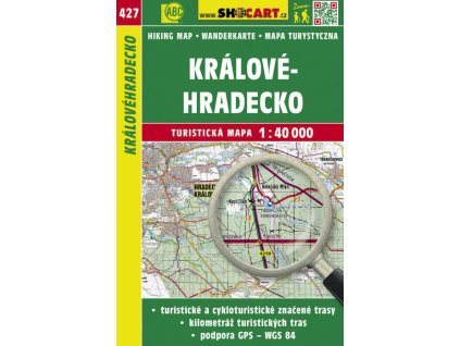 Královéhradecko - turistická mapa č. 427